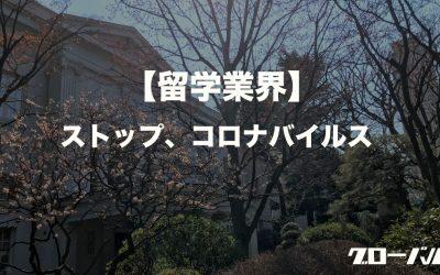 【留学業界】ストップ・コロナバイルス